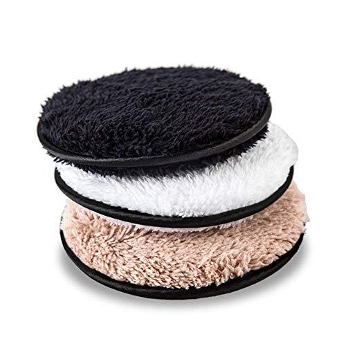 Lanceasy 3 Pz Magico Trucco Pulizia Profonda Spugne Morbide Fibra Puff Viso Makeups Solvente Asciugamano