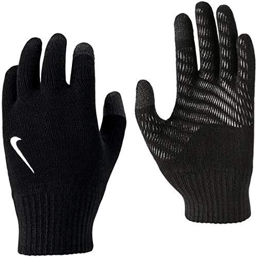 Nike N.000.3514.091 LX Guantes Tech y Grip, Negro y Blanco, Large/Extra-Large