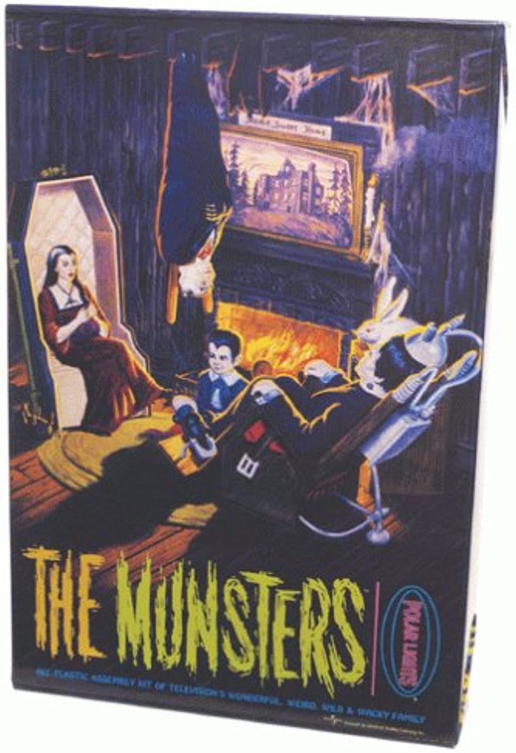 The Munsters Living Room Diorama Plastic modello Kit
