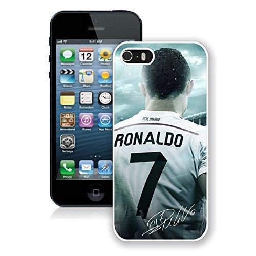 Custom funda fútbol Real Madrid CF Cristiano Ronaldo CR7para iPod Touch 6plástico duro funda