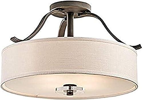 2021 Kichler online 42486OZ Leighton Semi-Flush 4-Light, outlet online sale Olde Bronze online