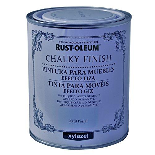 Pintura A La Tiza Azul Profundo Marca Rust-Oleum