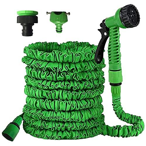DOSNTO Flexibler Gartenschlauch 22.5M /75FT Gartenschlauch Wasserschlauch Flexibel Geeignet für Garten, Pflanzen, Auto Reinigung, Haustiere Dusche