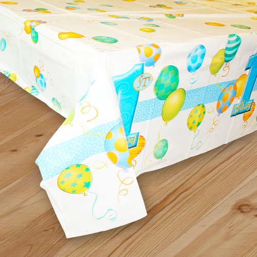 First Birthday Boy Tablecover