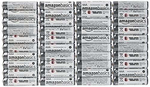 Amazon Basics AAA Industrial Alkaline Batteries (Pack of 40)