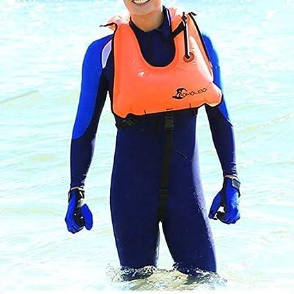 Life Jacket Floating Vest OMOUBOI Swimming Snorkeling Jacket ...