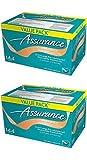 Assurance Premium Washcloths Value Pack 144 Count Carton (2-Carton Multipack 288 Washcloths Total)