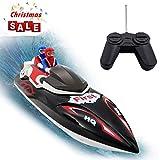 Ydq RC Boot, 2,4GHz 10MPH High Speed Boot Mit Kapsel Standard Funktion Fernbedienung Spielzeug RC Rennboot FüR Erwachsene Und Kinder,