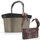 Reisenthel - Cesta de la compra con cubierta y accesorios, incluye cesta de la compra