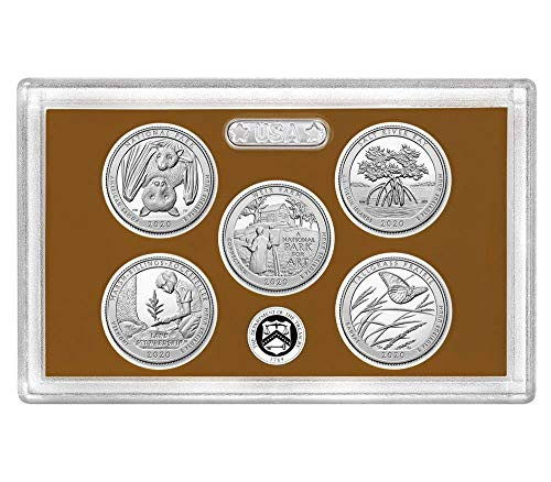 2020 S Clad Proof State Quarter Set No Box or CoA Proof Coin Box Coa No Coins
