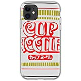 Maruchan College Snack is Orange Black The Instant Snacks Food Top Noodle University Student of Cup OITNB Noodles Ramen New Foods Sodium Unique Design Phone Case Cover for iPhone TPU Protective