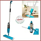 Easy to use Microfiber Aluminium Floor Cleaning Healthy Spray Mop with Removable Washable Cleaning Pad and Integrated Water Spray