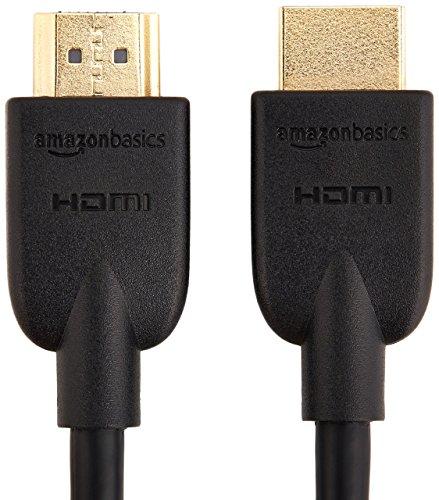 AmazonベーシックハイスピードHDMIケーブル-1.8m(タイプAオス-タイプAオス)