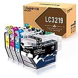 STAROVER Reemplazo de Cartuchos de Tinta compatibles con para Brother LC3219 XL para Brother MFC-J5330DW MFC-J5335DW MFC-J5730DW MFC-J5930DW MFC-J6530DW MFC-J6930DW MFC-J6935DW (4 Paquete)