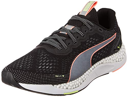PUMA Speed 600 2, Zapatillas para Correr de Carretera Hombre, Negro Black/Fizzy Yellow/Nrgy Peach, 40 EU