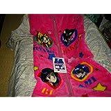 セーラームーン かいまき 毛布 パジャマの上に スリーパー ピンク サイズ.65cm×130cm
