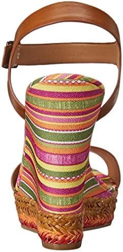 Colorful wedge heels _image4