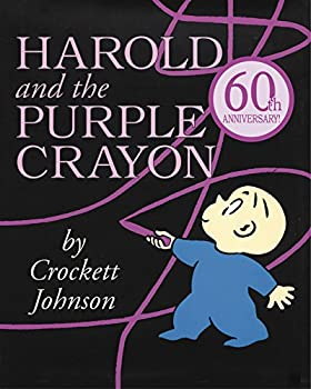 Paperback Harold and the Purple Crayon Book