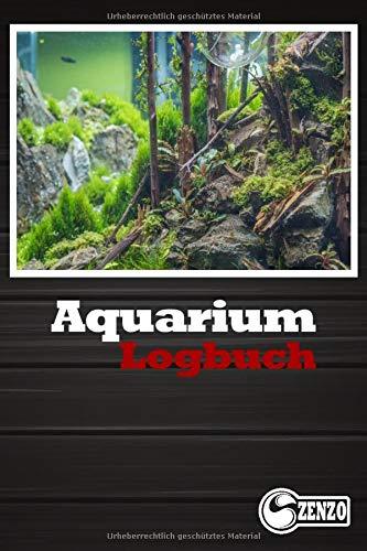 Aquarium Logbuch: Behalten sie einfach ihre Wassewrerte im Auge. Perfekt zum verhindern von unnötigem Fischsterben und Algenwachstum.
