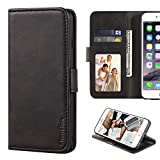 Alcatel Flash Plus 2 Case, Leather Wallet Case with Cash &