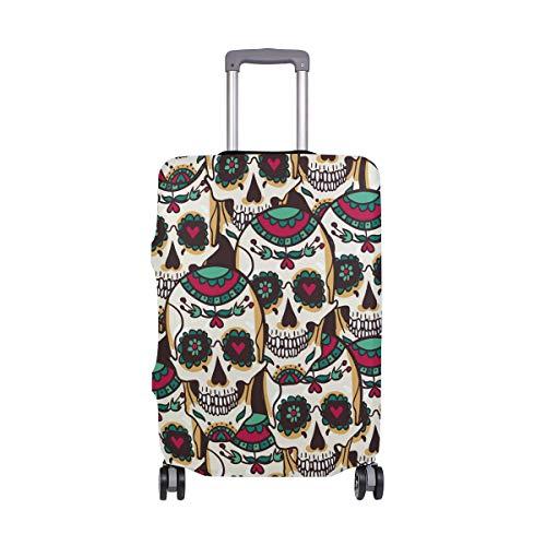Alino México - Funda Protectora de Viaje para Maleta de 18 a 32 Pulgadas, Multicolor (Multicolor) - 321313zx3v667
