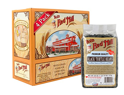 Bob's Red Mill Black Turtle Beans, 26-ounce (Pack of 4)
