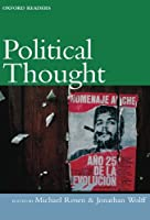 Political Thought (Oxford Readers) by Unknown(1999-12-16)