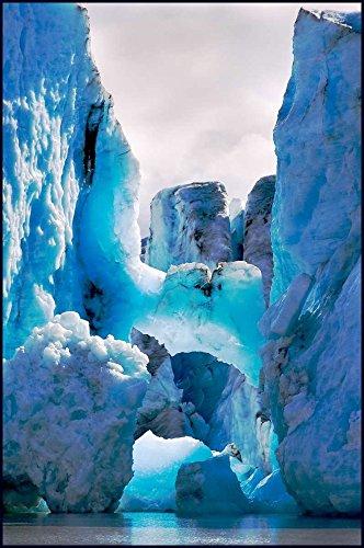Home-Feeling ART-PRINT-para-marco-Barrett-Glacier-18x27_inch