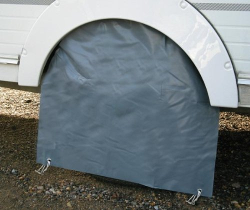 Kampa Rad-Reifen-Cover/Displayschutzfolie passt Caravan Größe Neu