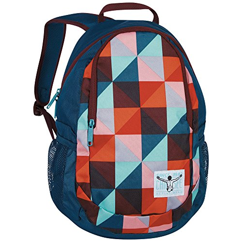 Chiemsee Rucksack Crystal, Magic Triangle Red, 31 x 15 x 47 cm, 21 Liter