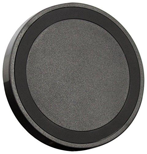 Pictek GEPA013BB - Cargador Inalámbrico Rápido QC2.0 QI para teléfonos móviles, 10W/5W, Negro