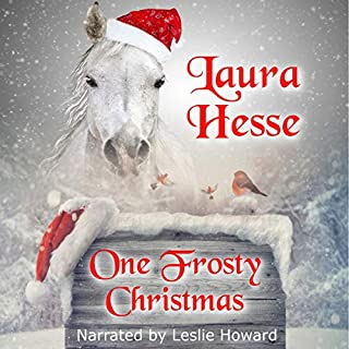 One Frosty Christmas audiobook cover art