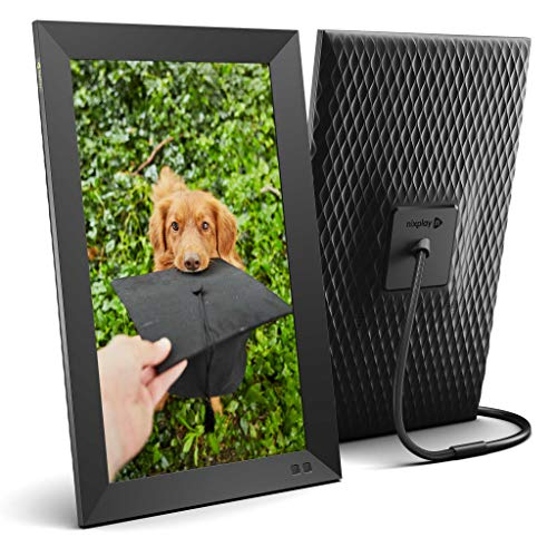 Nixplay Smart Digital Photo Frame 15.6 Inch - Share Moments Instantly via App or E-Mail