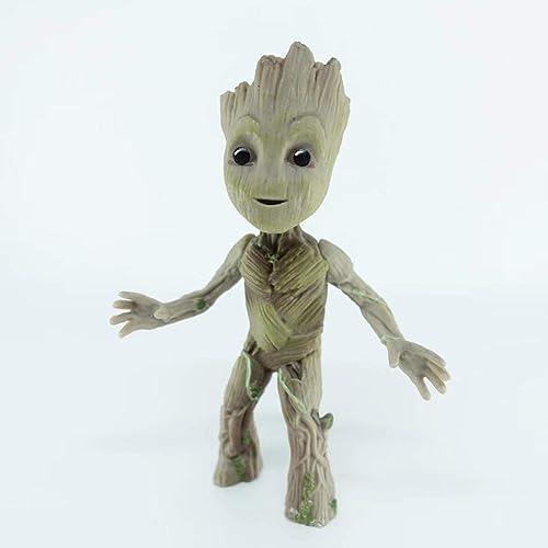 XINKONG Modèle Jouet Statue Avengers Jouet Modèle Film Personnage Cadeaux Objets de Collection Galaxy Guard Tree Man Groot (Couleur   B)