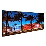 islandburner Bild Bilder auf Leinwand Miami Beach, Florida