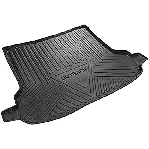 Auto Kofferraummatten Gummi Antirutschmatten Maßgeschneiderte Heckkoffer Fußmatten Zubehör, für Subaru Outback 2015 2016 2017 2018 2019