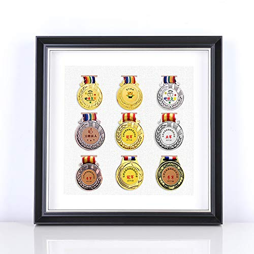 ZHXY Medaillenrahmen Orden Ehrenzeichen Medaille Aufhänger für Läufer,Marathon Medaillen Display Rack,Laufende Medaille Halter,Sport Awards Aufhänger Running Medal Hanger medaillen aufbewahrung