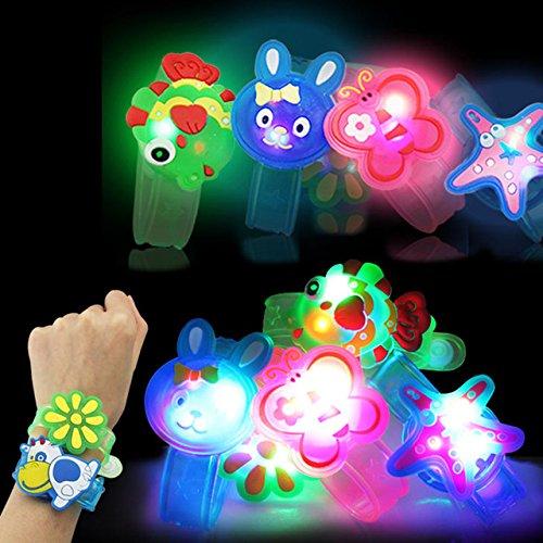 brown leaf LED Band Rakshabandhan Rakhi with Animal Mix Design for Kids Brother and Sister (Multicolour) – Set of 4