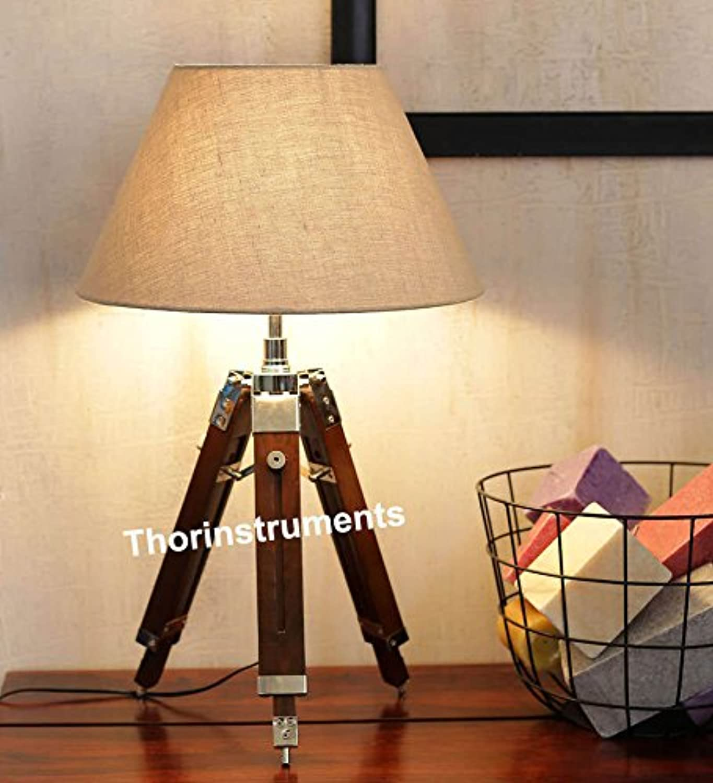 MARINE TRIPOD TABLE LAMP FOR LIVING ROOM