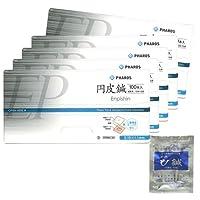 vinco ファロス円皮鍼 (100本入) 太さ0.18mm×針長1.1mm x5箱 + 日本薬興 神洲 ひ鍼 (2針入り)
