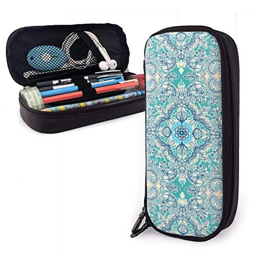 Pencil Case Pen Bag Tie Dye Flower Pencil Case, Large Capacity Pen Case Pencil Bag Stationery Pouch Pencil Holder Pouch with Big Compartments