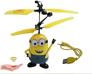 طائرة هليكوبتر تحكم عن بعد للايقاف اصفر وازرق