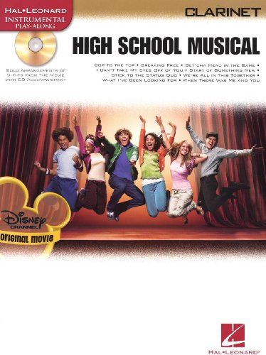 High School Musical – Selections (Clarinet). Partitions, CD pour Clarinette