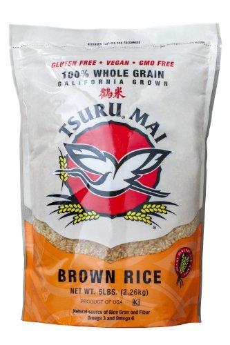 Tsuru Mai California Brown Rice 80 oz by Tsuru Ma