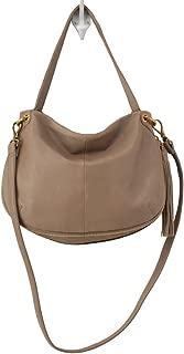 Hobo Handbags Supersoft Leather Vale Convertible Crossbody - Mushroom