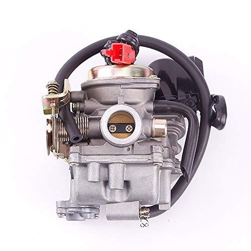 FYLYHWY para PD19J Carb Carb Carburetor 50cc 4 accidente cerebrovascular para Chino GY6 139QMB ciclomotor 49cc 60cc para Sunl Baja Tank NST Viva ATM BMS REDCAT Carburador