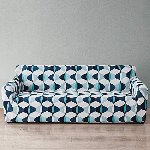 WXQY Funda de sofá Europea con Todo Incluido Fundas de sofá con Estampado Floral para Sala de Estar Sofá Toalla Funda para Muebles Sillón Funda para sofá A8 1 Plaza