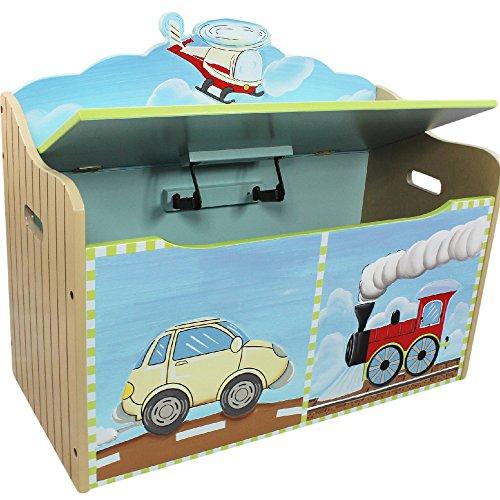 Fantasy Fields Children Transportation Kids Holz-SpielzeugkisteStorage W-9940A - 5