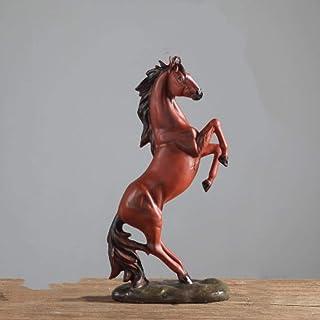 منفضة سجائر للحصان المنزل دراسة النبيذ خزائن الكتب مكتب رف الكتب ديكور خزانة التلفزيون 3