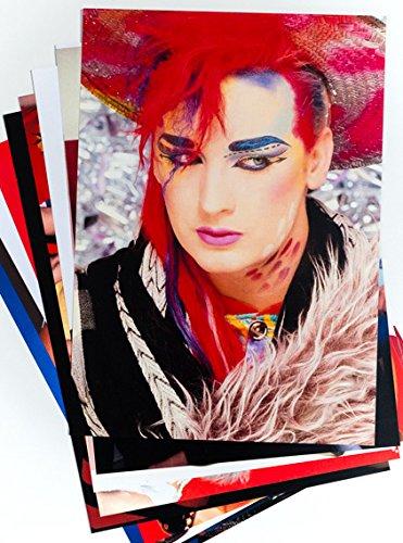 80er Jahre Party Dekorationen - 10 x 80er Jahre Popstars und Bands Poster